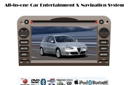 cheap 3d tv | Buyonline Piennoer Original Fit (2006-2012) Alfa Romeo Brera 6-8 Inch Touchscreen Double-DIN Car DVD Player  &  In Dash Navigation System,Navigator,Built-In Bluetooth,Radio with RDS,Analog TV, AUX & USB, iPhone/iPod Controls,steering wheel control, rear view camera input