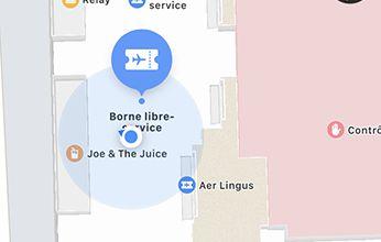 Nice Côte d'Azur, 1er aéroport de France à intégrer les cartes détaillées de ses terminaux dans Apple Maps