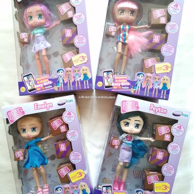 Saison 3 des poupées ultra fashion des Boxy Girls chez BEST Of TOYS