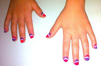 "Nail art ""pop"""
