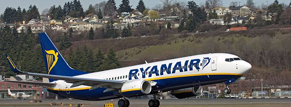 Ryanair launches 2 new routes from Bordeaux and Brest to Morocco