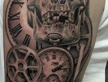 tatouage crane montres