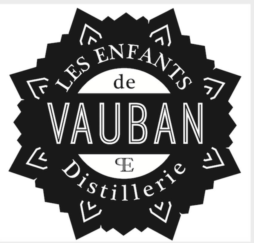 Logo de la distillerie évoquant les fortifications édifiées par Vauban. © Christian Delobelle.