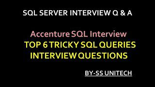 Sql Interview Questions You  Need To  Think About Asking Candidates