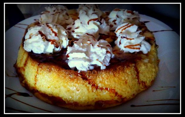 Pudin de pan y chocolate blanco