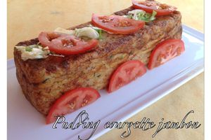 Pudding courgette jambon
