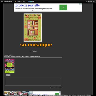Le blog de So.mosaïque