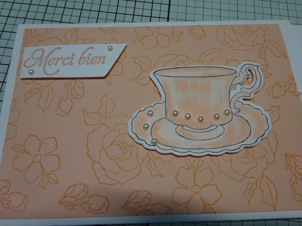 Stampin'Up!® carte interactive Tea Together