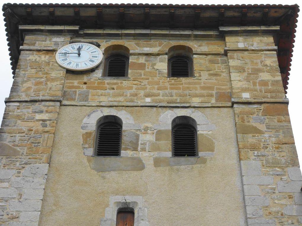 Eglise Saint-Etienne , Espelette (Pyrénées-Atlantiques 64) AA