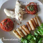 Poulet aux salsifis à la Charentaise de Mamigoz - Chez Mamigoz