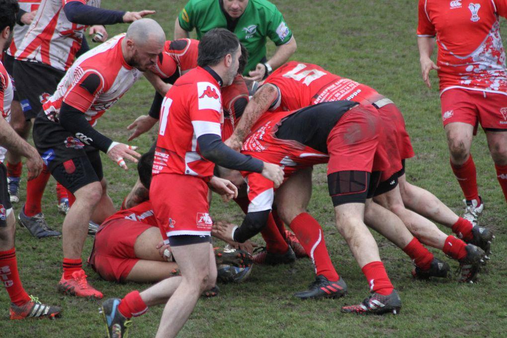 L'US Vénissieux Rugby a resisté une mi-temps puis a été châtiée par le Rugby Trévoux-Chatillon