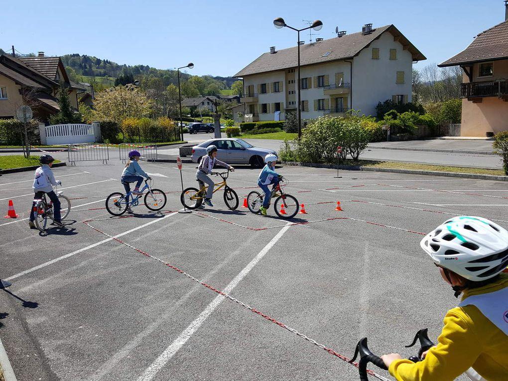 Passage du permis vélo pour le cycle III