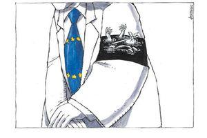 Situation des migrants en Grèce : Deux caricatures parlantes