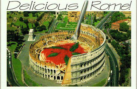 CARTOLINE da tutto il mondo ... cominciamo dal Colosseo.