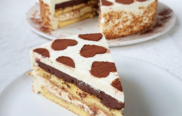 Entremets Vanille Mascarpone Chocolat