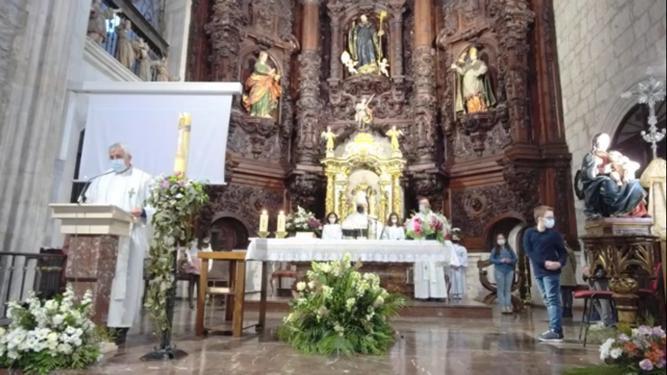 D. Mario, el Arzobispo, en San Lesmes