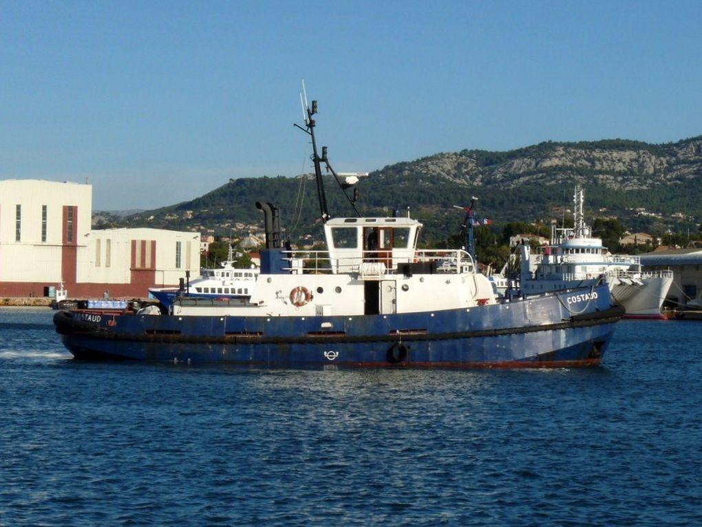 COSTAUD , remorqueur du chantier Fosseley Marine à la Seyne sur mer