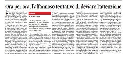 Grillo vs. M5S ovvero la democrazia del capo