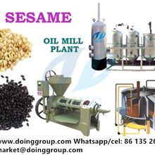 Henan Doing Company sesame oil extraction plant for sale
