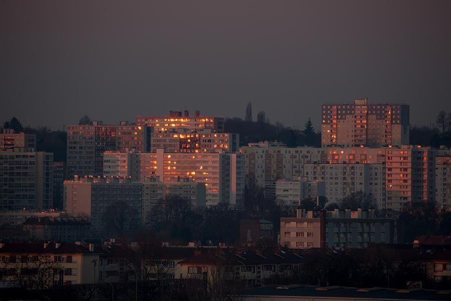 La banlieue en feu (sic)