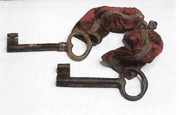Les clés d'Alger, conservées en France (source BZ)