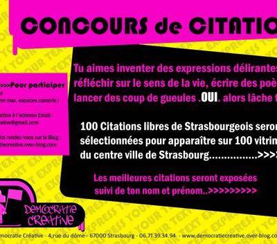 Concours de Citations
