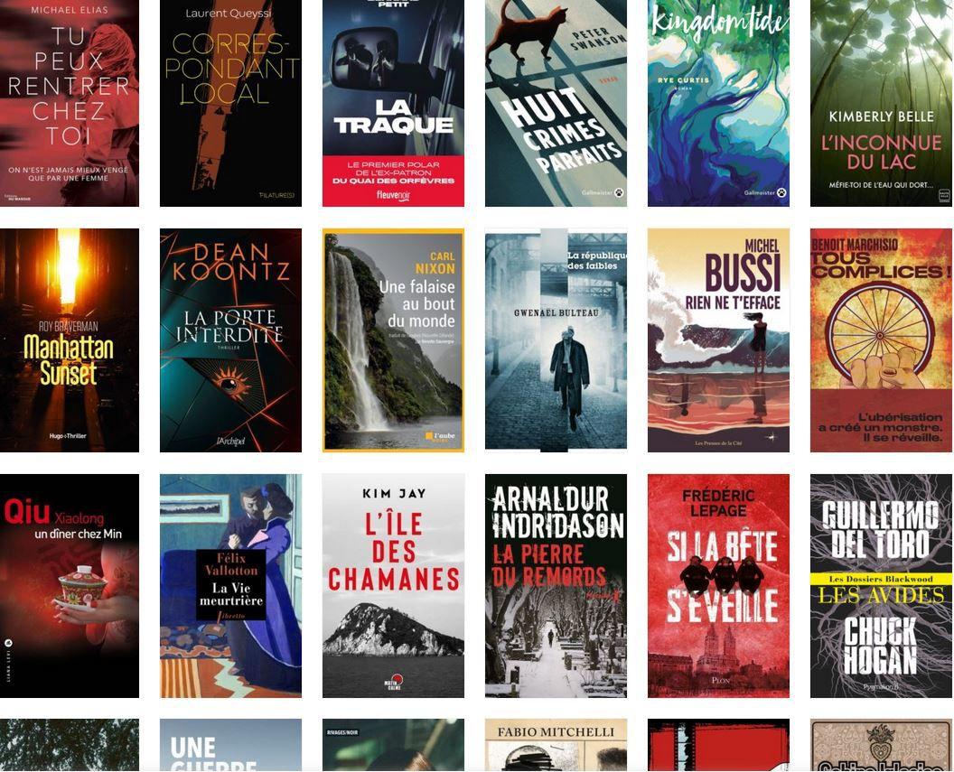 Quoi de neuf en février dans  nos chères librairies ?