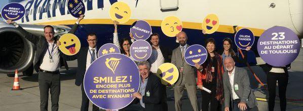 Nouvelle base Ryanair à Toulouse