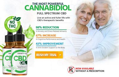Ceremony CBD Oil : Helps To Overcome Joints And Muscle Pain!