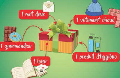Evreux : Offrez des boîtes de Noël aux personnes démunies ou isolées.
