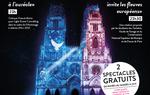 PROJECTIONS GRATUITES à 23h du mardi au samedi sur la cathédrale Sainte-Croix d'Orléans - 1er juillet au 11 septembre 2021