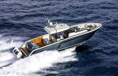 New Ocean Alexander 45 Divergence arrives in Europe