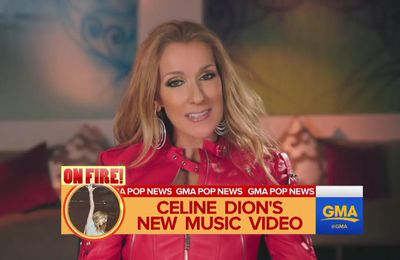 Celine dion good morning america