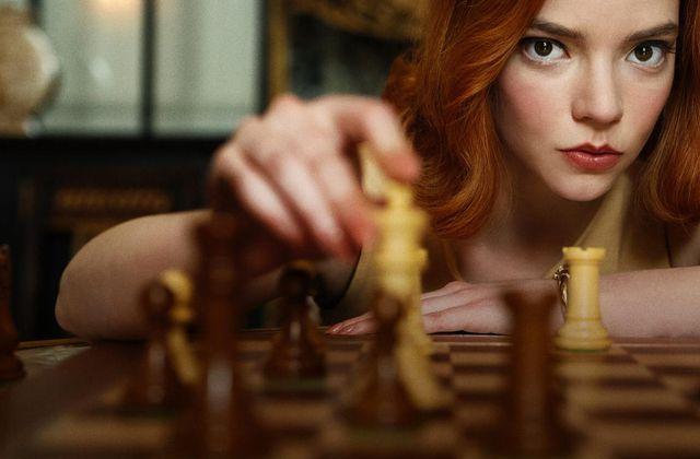 Le jeu de la dame sur Netflix / MINI SERIE REMARQUABLE