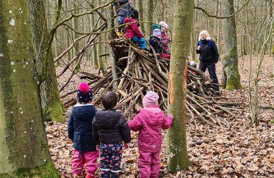 Ist in Veitshöchheim ein Waldkindergarten gefragt? Rege Diskussion beim Online-Treffen der Veitshöchheimer Grünen mit der erfahrenen Höchberger Waldkindergarten-Pädagogin Gisela Ursprung