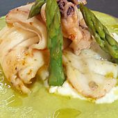#casacostantino: Calamaro ripieno scomposto