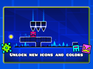 Geometry Dash - charismatic music game for smartphone