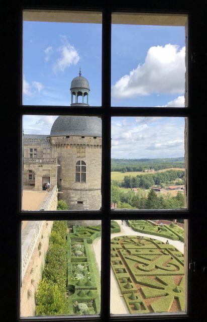 Château Hautefort, l'intérieur
