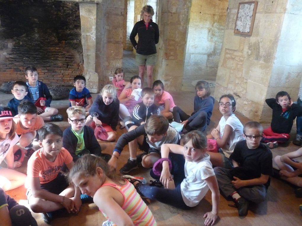 les enfants ont apprécié les oeuvres de Patrick Audevard et certaines d'entre elles les ont carrément enthousiasmés!