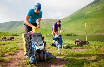 Hiking and Camping Equipment  The Necessities