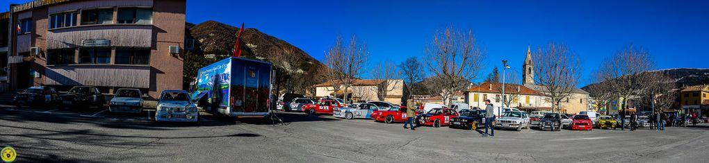 Le Rallye Hivernal Classic 2017 de passage à St André les Alpes