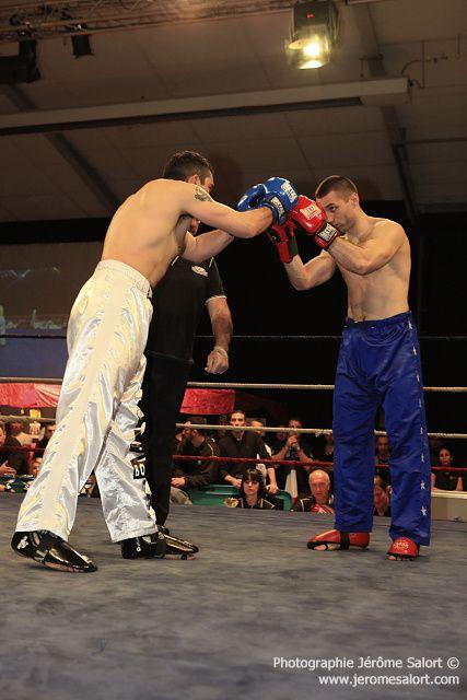 Boxe in défi XIII Tournoi des -86Kg (3x2) Jean-Luc BENOIT vs Milos NESKOVIC