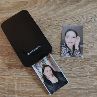 Mon imprimante portative compacte AGFA PHOTO Realipix Mini P - Test & Avis