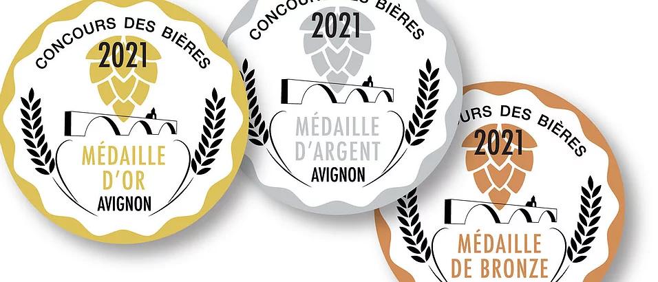 La brasserie de Cordoeil :  récolte de récompenses à Avignon avec 5 médailles ...