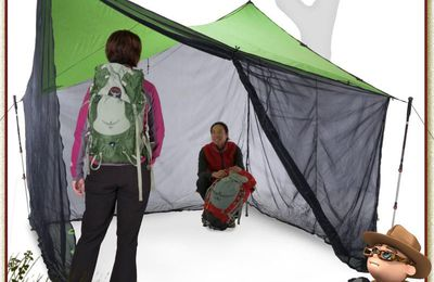 BUGOUT SCREEN ROOM TARP 9x9 NEMO