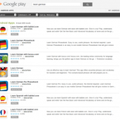 Learn German with Android Apps