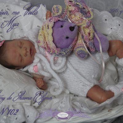 un nouvel ange est né : Mya