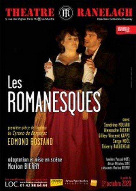 LES ROMANESQUES de Edmond ROSTAND
