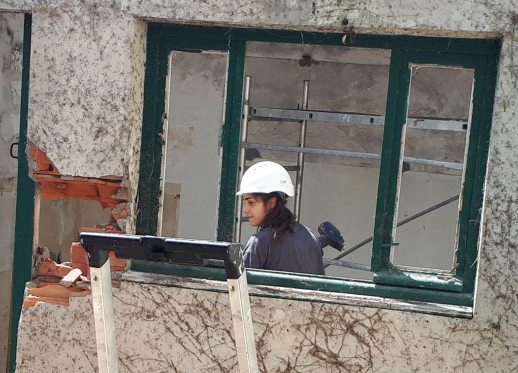Patio Maison : démolition cuisine (murs)