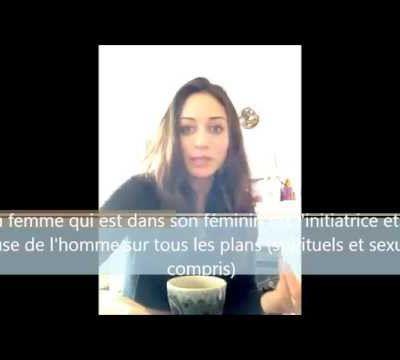 Une nouvelle vidéo sur Féminité Sacrée !